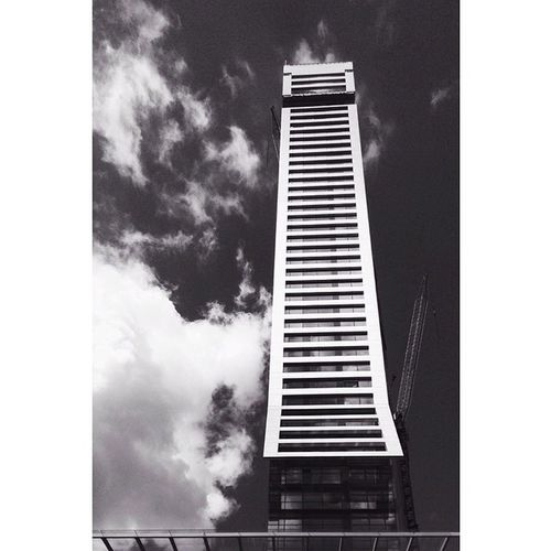 Towering. Chatswood Sydney Architecture Blackandwhite vscocam ipodtouch perspectivecorrect