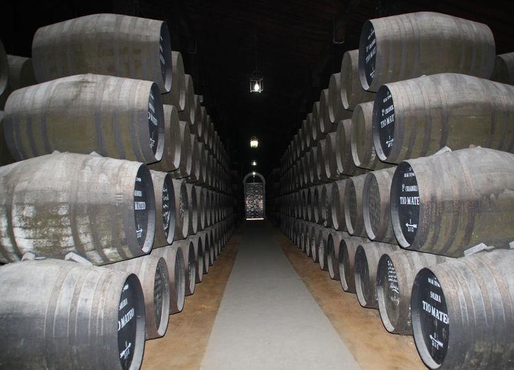 sherry casks Andalucia Spain Andalucía Bodega Casks Jerez De La Frontera Old Sherry Sherry Casks