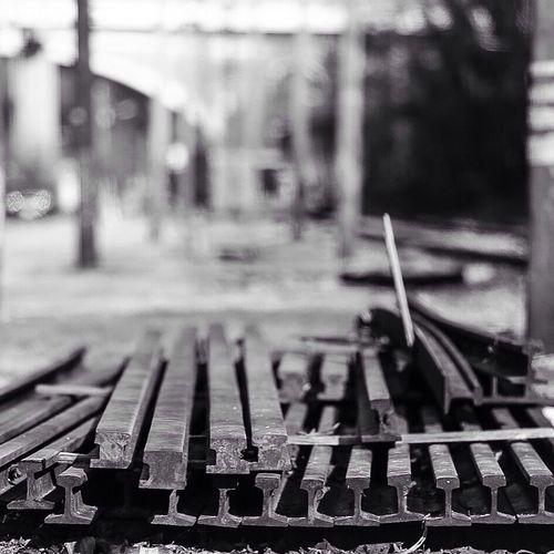 Rails Baltimore Falls Road Vintage Historic Railroad Streetscape