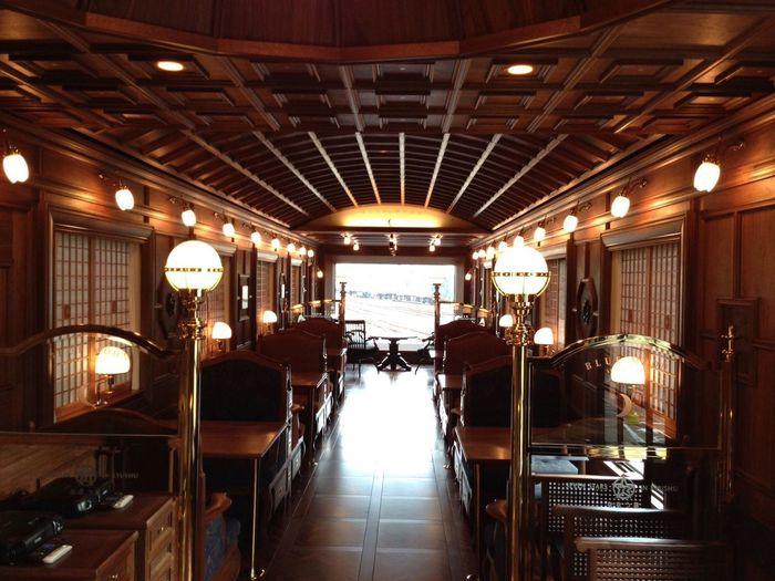 JR KYUSHU. Nanatsu boshi Train.
