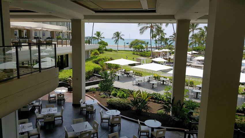 Hawaii The Big Island The Marriott Travel Traveling Patio Exterior