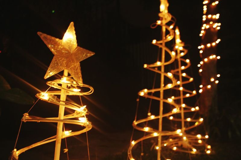 (Holy)day🌆 Outdoors Black Background Christmas Igniting Wealth No People Close-up Lighting Equipment Party - Social Event Celebration Gold Colored Gold Metal Shiny Star Shape Luxury Night Illuminated Welcome To Black