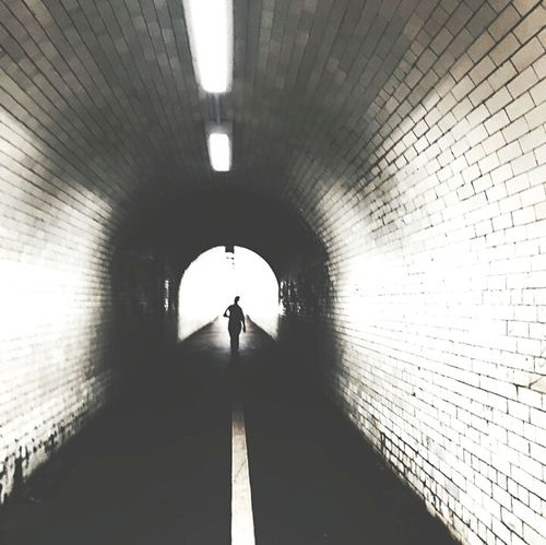 Street Tunnel Silhouette Silence Photography Streetography Blackandwhite Eyeem Philippines // ◾◽◾◽🚦⚠