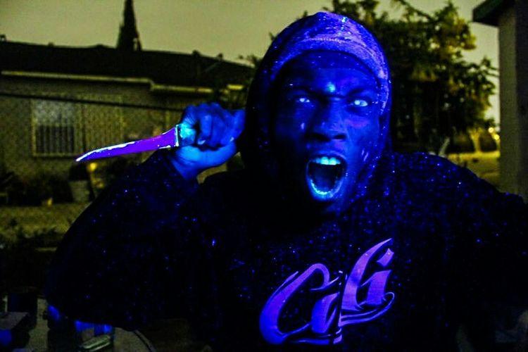 Open Edit Blacklight Photo Neon Glow People Photography UrbanART Urban Photography Night Photography
