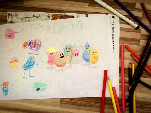 Dumb Ways To Die Drawing With Brother :D