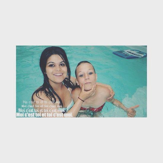 """""""Du passé je n'ai gardé que ce qui m'a donné espoir"""" ❤️ Ex Bestfriend For Ever Swiming Pool Miss You"""