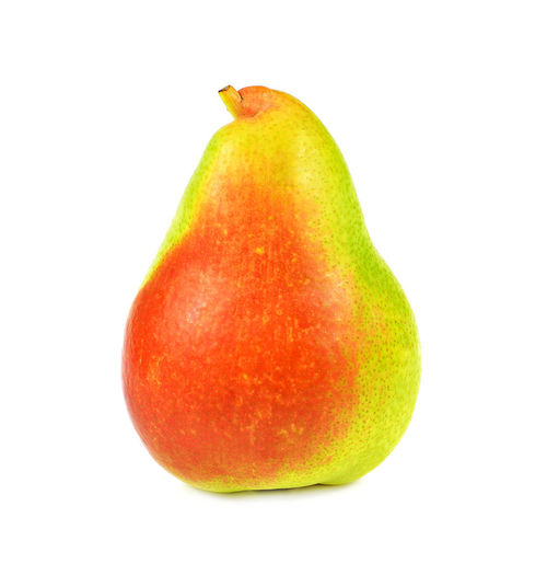 Ripe red pear