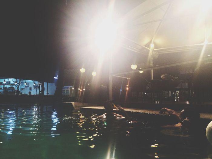 Summer Pool Nightswimming Sportsclub