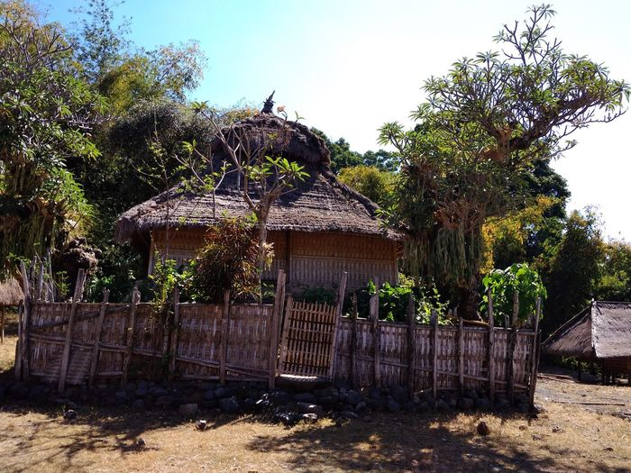 No People Architecture NTB Lombok Island Rumahalir DELTA API Indegenous Culture And Tradition old mosque