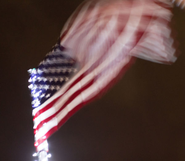 Close-up of flag against blurred background