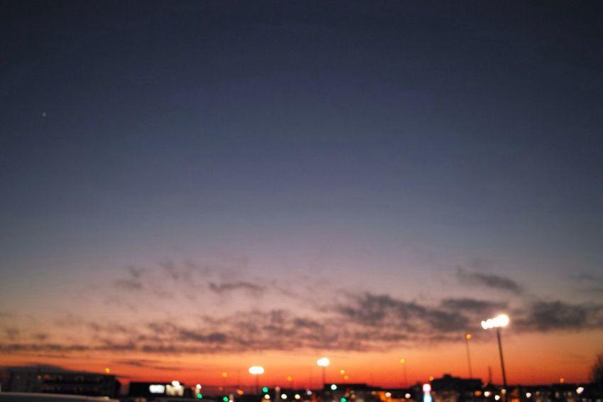 おつかれさまでした。 Sunset SigmaDP1X Afterglow Twilight 夕暮れ時 おつかれさま