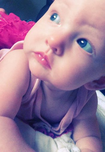 Babies Are Precious Blue Eyes Pink