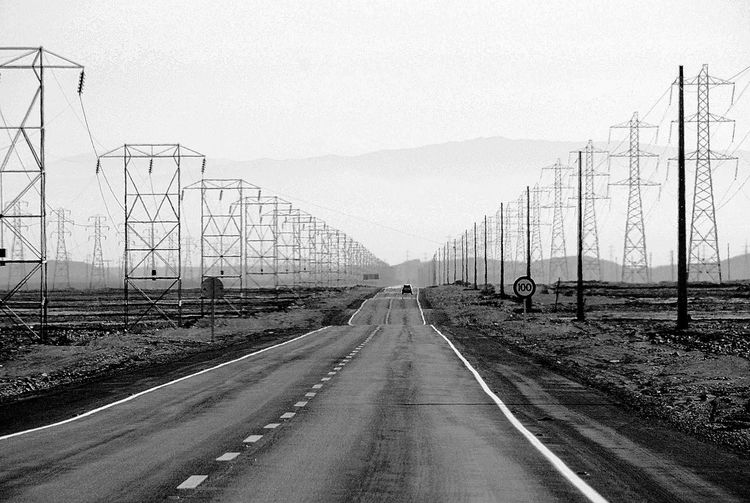 The Way Forward Road Car Transportation Electricity  Day Outdoors Electricity Pylon No People Land Vehicle Sky Telephone Line Mountain Road Desert Road North Chile