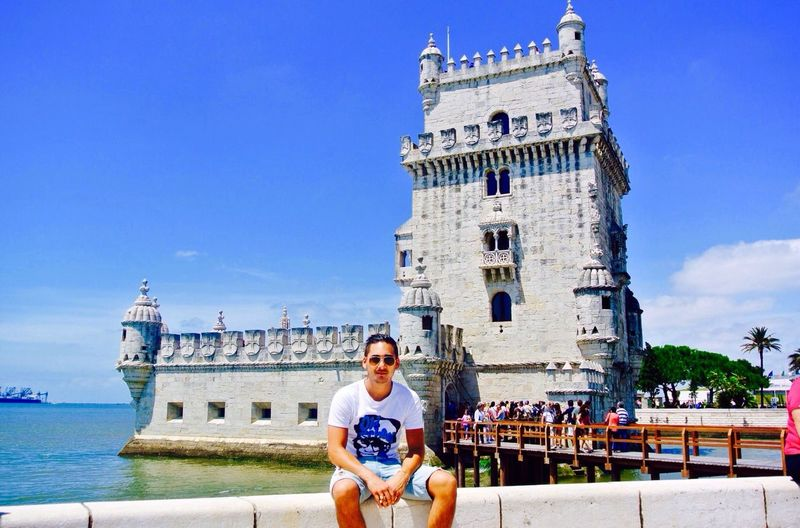 A famous Belém Tower.