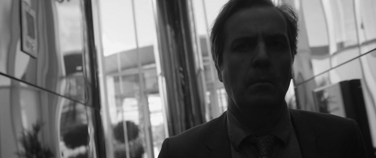 Angry Man Black And White Black And White Photography Casual Clothing Close-up Contemplation Day Film Photography Film Shot Film Stills Focus On Foreground Headshot Leisure Activity Lifestyles Lobby Man In Building Man In Lobby Portrait Serious Man