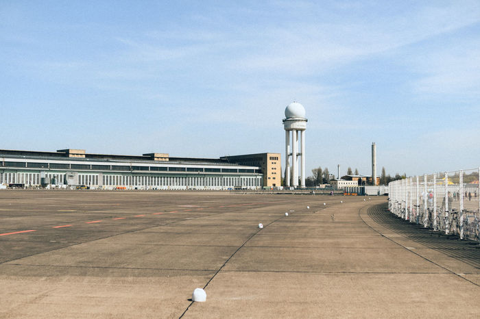 Empty airport Airport Airport Runway Airportphotography Airpot Architectural Column Architecture Building Building Exterior Built Structure City Cloud - Sky Day Direction Empty Nature No People Outdoors Sky Street Street Light Transportation Travel Travel Destinations