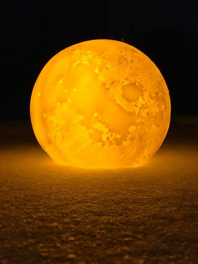 Moon #moon Nature Beauty In Nature No People Scenics Tranquility Moon Surface Tranquil Scene Sky Outdoors Sunset Astronomy Yellow Night Close-up Space Shades Of Winter