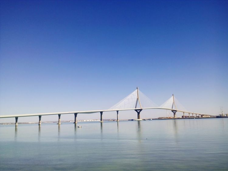 Bridge Sea Cadiz Andalucía SPAIN Cadizturismo Cadizfornia Today ☺ Sunny Day Puente Día Soleado Sea View Seaside Sea And Sky