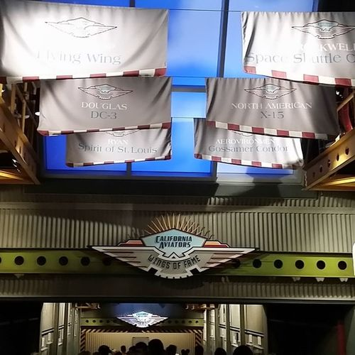Aviationhall Flyinovercalifornia DCA Disney disneyside disneytime disney_addicts disneyland