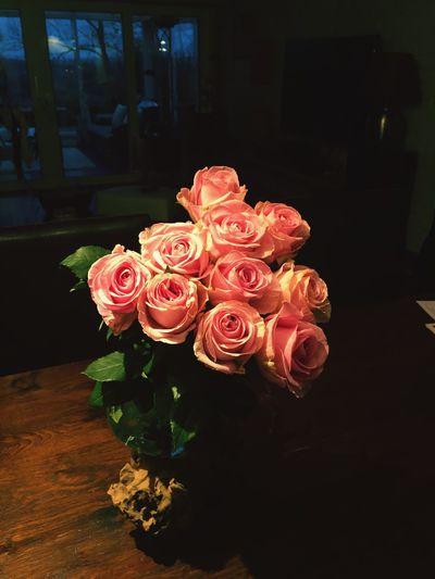 Bouquet de roses First Eyeem Photo