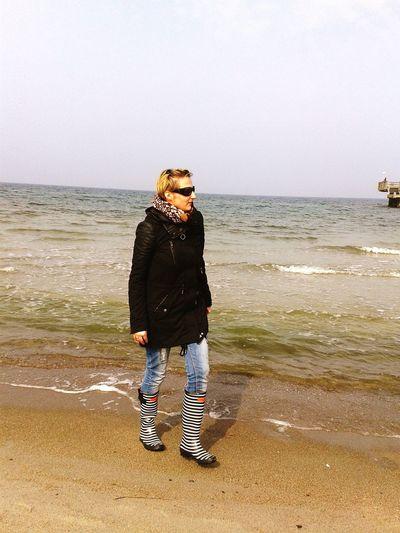 Was fur ein toller Tag. ... Sunshine Photo Sea