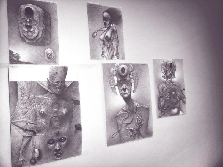 My drawings Surrealism Art Dark Art طراحی های اشکان مسلمی