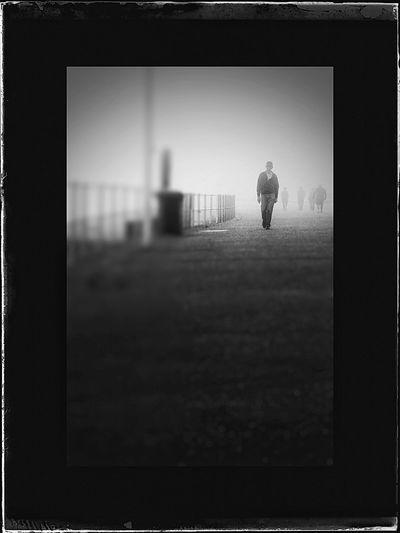 outa the fog he