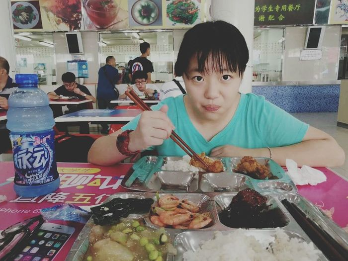 高子暄 Eating Enjoyment Happiness First Eyeem Photo