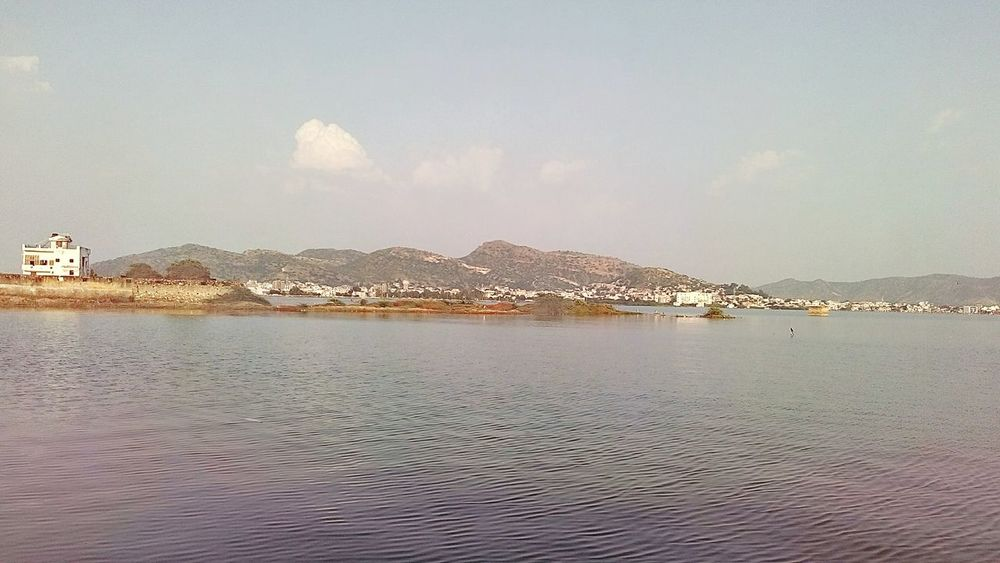 Landscape Water Scenics Waterfront Calm Beauty In Nature Day Sky Mountain Outdoors No People Mobile Photography Lake SSClickPics SSClicks