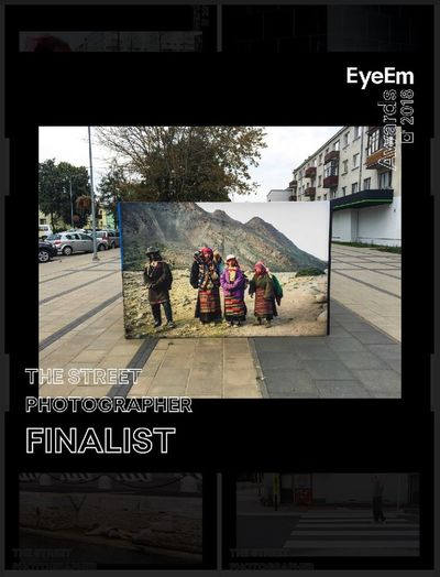 Thank you for such existing news, big thank you for all my followers and my supporters!😊👍 i am really happy to be part of this big event!! Thank you EyeEm ! Finalists Streetphotography EyeEm Awards 2018