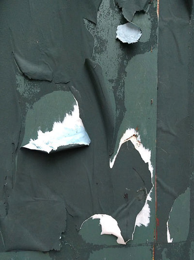 Background Blobs Building City Close-up Day Green Green Color Minor White No People Old Old Buildings Outdoors Paint Peeling Peeling Off Peeling Paint Peeling Paintwork Vertical White Worn