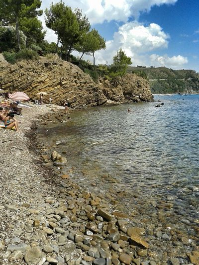 Atmosfer Beach Campania Italy Enjoying Life Sky Cliff Coastline Day Exploring Horizon Over Water Nature Outdoors Punta Licosa Remote Rock Rock - Object Rock Formation Romanticismo Sand Sea Shore Tranquil Scene Trip Tropical Climate Vacation Water