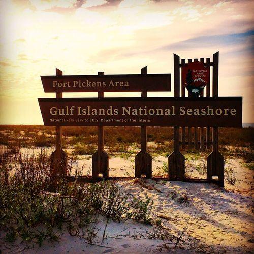 Gulf Islands National Seashore Nationalpark National Park Visit Pensacola Fort Pickens Pcola Florida