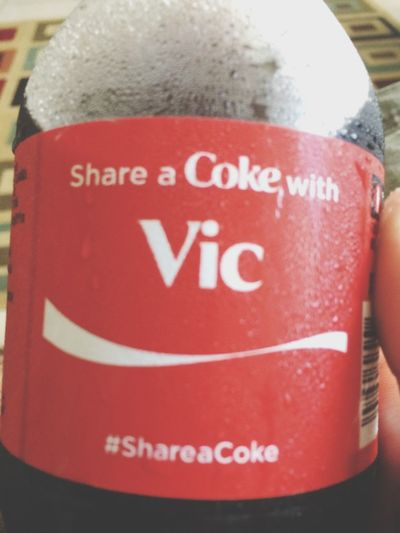 Share a coke with me Vic Fuentes? Share A Coke Vic Fuentes Pierce The Veil