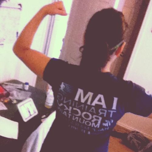 I am training for the Rocky Mountain half marathon. Rockymountainhalfmarathon Running Halfmarathon Colorado