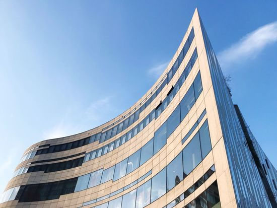 Architecture Köbogen Modernbuilding Sky Low Angle View Building Exterior Düsseldorf
