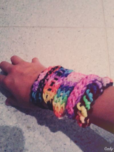 Rainbow Loom Loom Fieber Loom Bands Collection #love #motivation