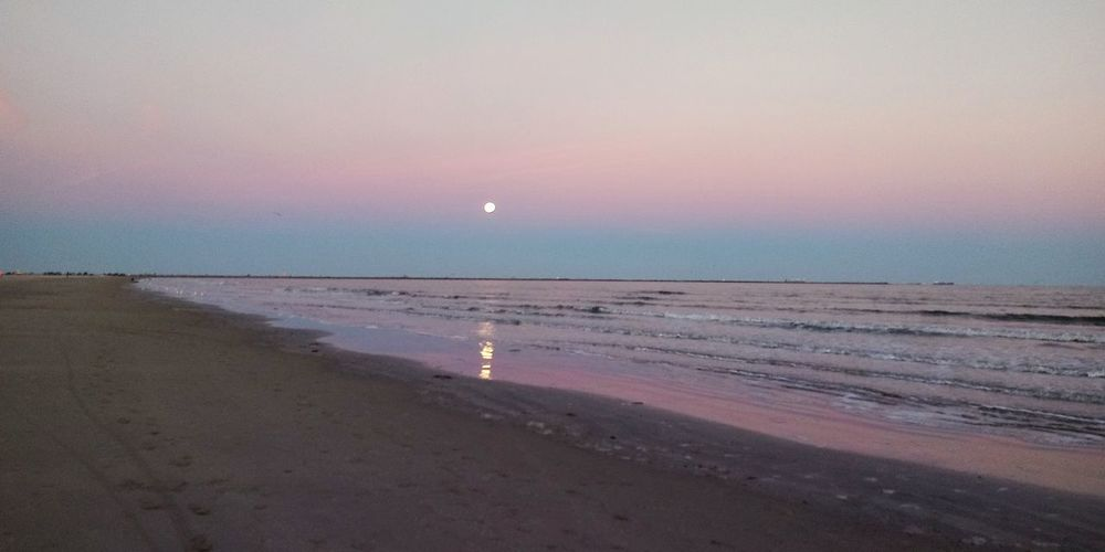 Moonrise Astronomy Moon Sea Space Beach Sunset Water Summer Sand Sky Full Moon Romantic Sky