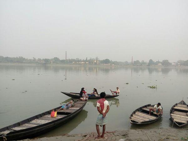 Showcase: January Noedit Hoogly River Boats January2016 Kolkata WestBengal Imambara Afternoon India
