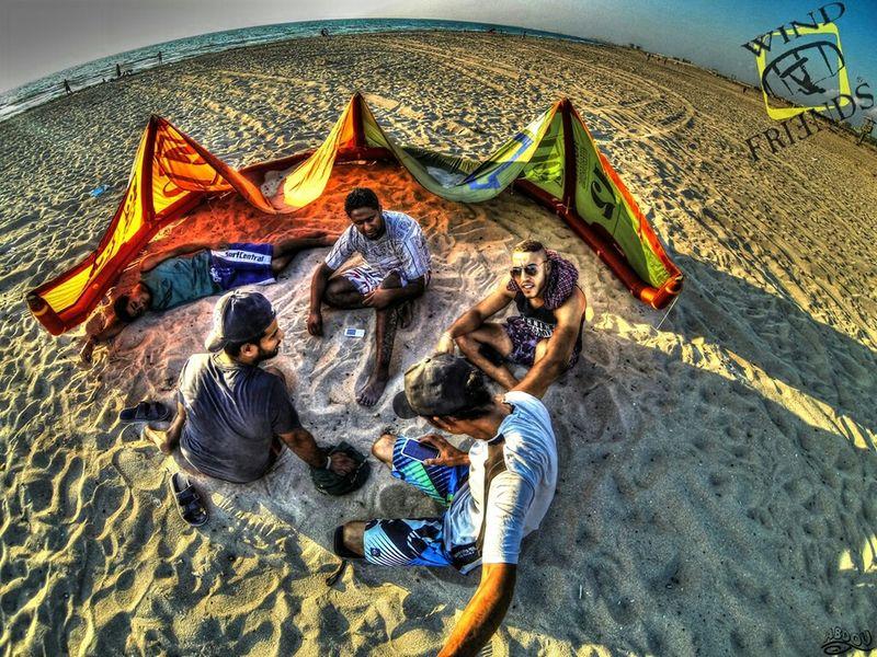 Libya Benghazi Nice Day Beach Kiteboarding Gopro3 Goprohero3 GoProheroPhotography Fun Sport