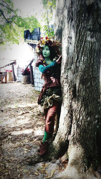 Fairy in the woods! Fairy Fairytales & Dreams Renaissance Festival Acting...