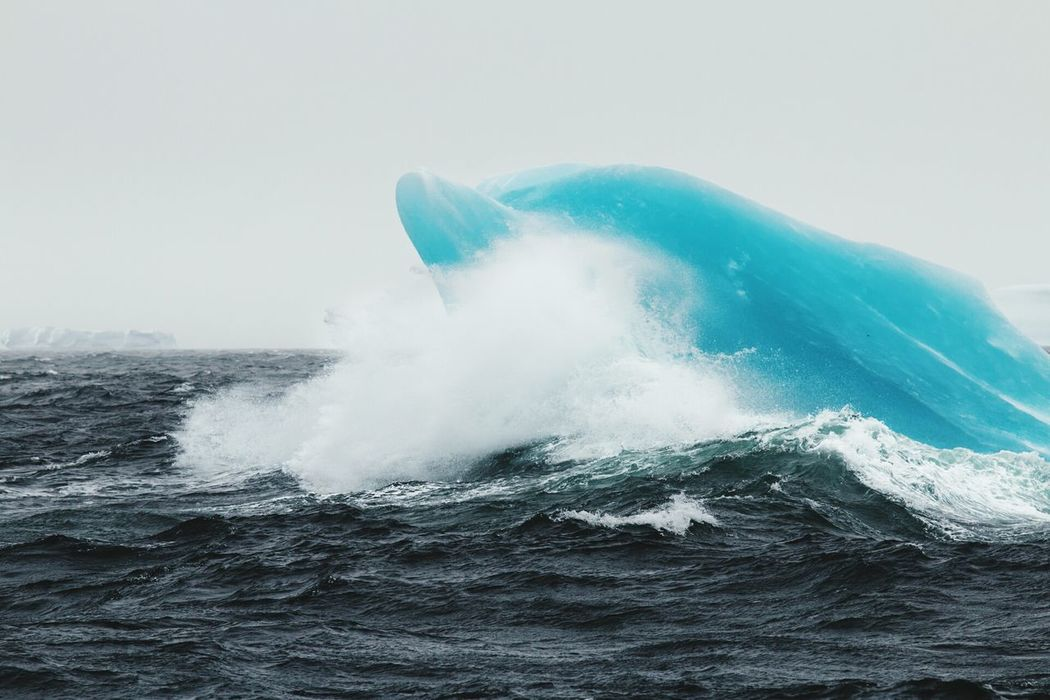 Antarctica Nature Photography Rough Sea Sailing Iceberg Sea Waves, Ocean, Nature the jumping blue dolphin iceberg...