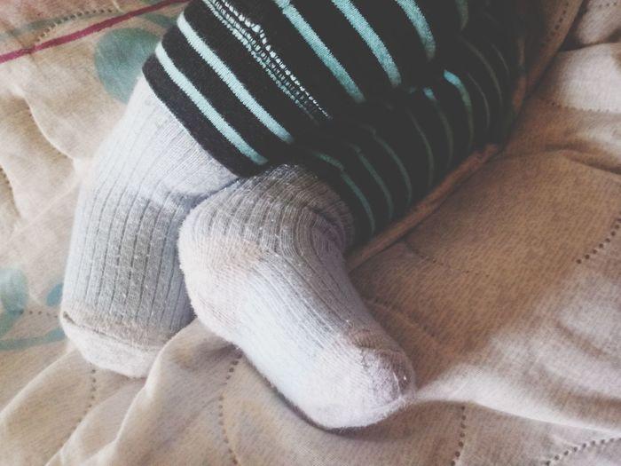 little feet Baby Newborn Baby Foot Littlefeeties Child Textile Textured  Close-up Sock Woolen Wool Cloth Needlecraft Product