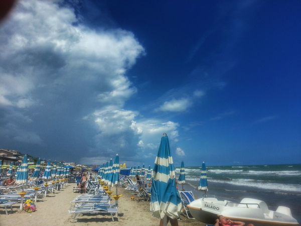 Wind of change... Summer 2014 Summer Sky And Clouds Beach
