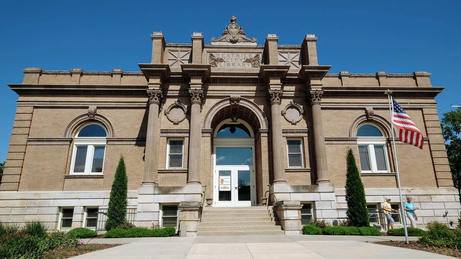 Visual Journal May 2018 Beatrice, Nebraska - Beatrice Carnegie Building Beatrice City Library 1902–1903, George A. Berlinghof; 2010–2012 renovation. 220 N. 5th St. A Day In The Life Architecture Camera Work Carnegie Library EyeEm Best Shots FUJIFILM X-T1 From My Point Of View Getty Images Historical Building Photo Essay Small Town America Storytelling Visual Journal Always Taking Photos Arch Architectural Column Architecture Building Building Exterior Built Structure City Clear Sky Day Direction Entrance Eye For Photography Façade Famous Landmarks History Mature Women Nature No People Old Ladies Outdoors Photo Diary S.ramos May 2018 Sky Small Town Life Small Town Stories Streetphotography Sunlight The Past The Way Forward Travel Destinations The Architect - 2018 EyeEm Awards