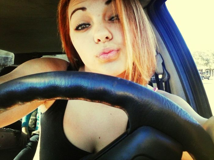 Got my license the other day. Ayyy ;p Portrait Beauty Duck Face