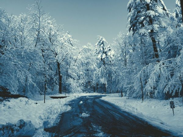 Winter New England  Snow