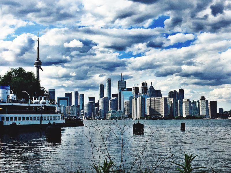 Toronto Skyline Toronto Islands Original Experiences Enjoying Life Ferry