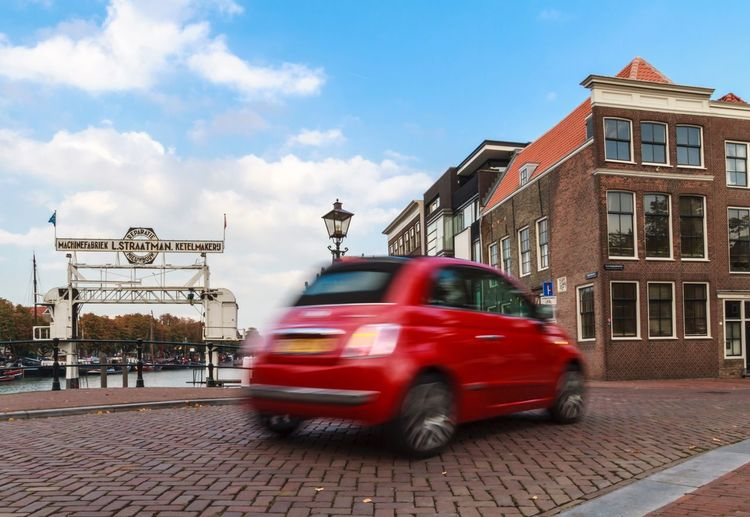 Little red fiat! Fiat Red Car Cars Fiat500 Fiat 500 Dordrecht Blurred Motion Blurred Motion Blur Motion Photography Motionphotography Motion Fast Cars Car Ride  Car Rides Urban Lifestyle Urban Photography Urban Exploration Dutch Cities Dutch Houses Modern Life Fastandfurious Fast And Furious Red Color