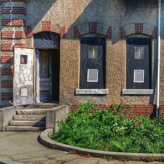 Ellis Island hospital ground. SaveEllisisland AbandonedHospital Beautyindecay Decay Americanhistory
